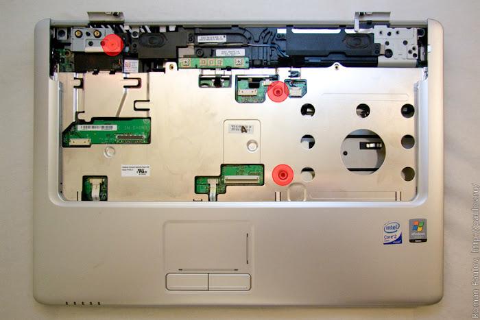 Как разобрать ноутбук Dell Inspiron 1525 27