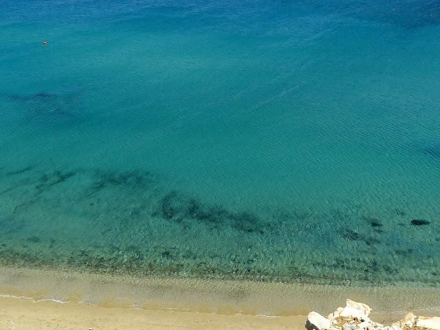 Mykonos , Spiaggia di Kalo Livadi
