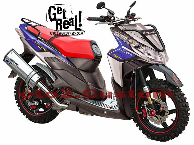 Modif Yamaha Mio Trail