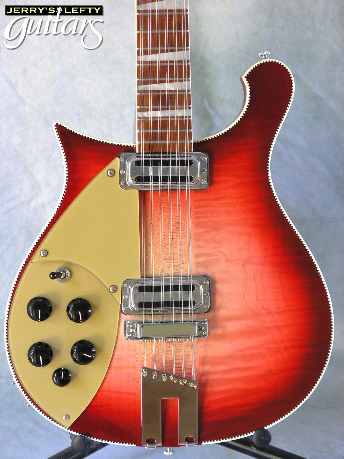 jerry 39 s lefty guitars newest guitar arrivals updated weekly rickenbacker 660 12 fireglow left. Black Bedroom Furniture Sets. Home Design Ideas