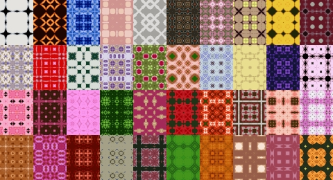 Free Seamless Patterns Set 12