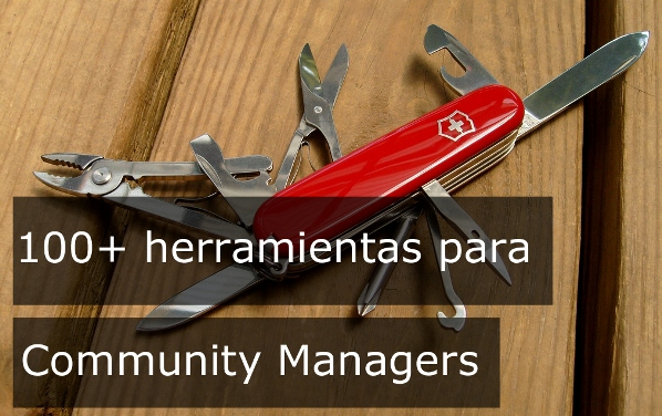 100 herramientas Community Managers