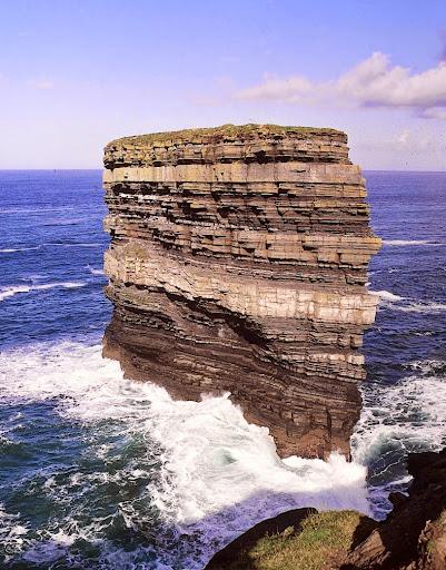 Downpatrick Head. From Driving Ireland's Wild Atlantic Way