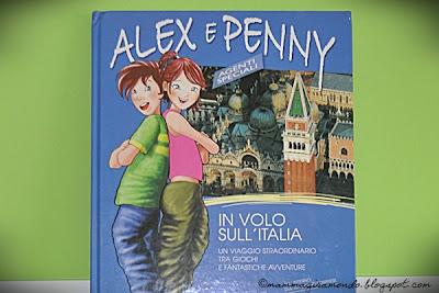Alex e Penny in volo sull'Italia