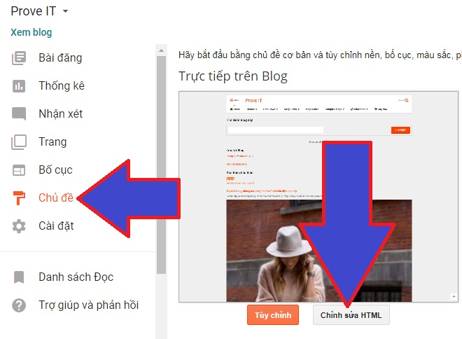 Sửa HTML