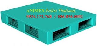 Pallet 2 mặt nhập khẩu Thái Lan
