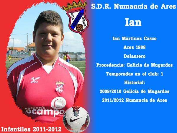 ADR Numancia de Ares. Infantís 2011-2012. IAN.