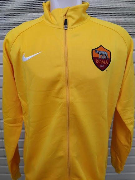 Jual Jaket AS Roma Kuning 2014-2015