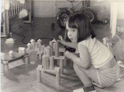 домики из кубиков