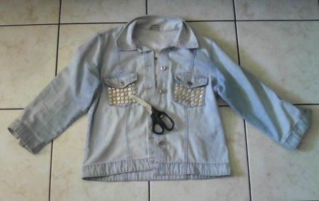Como transformar jaqueta em colete