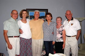 Tom & Marilyn Kovach, Jim Holmes & his significant other, Jen Srisamang, and Skip & Marilyn O'Donnell