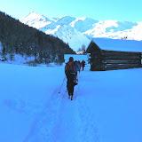 Weihnachten - Schneeschuhwanderung ins Rojental