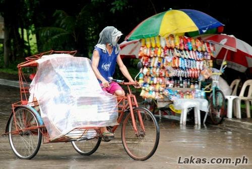 Pedicab at Macarthur Landing Memorial Park