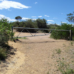 gate at nt of Geebung Track and Wybung Head Dr (249829)