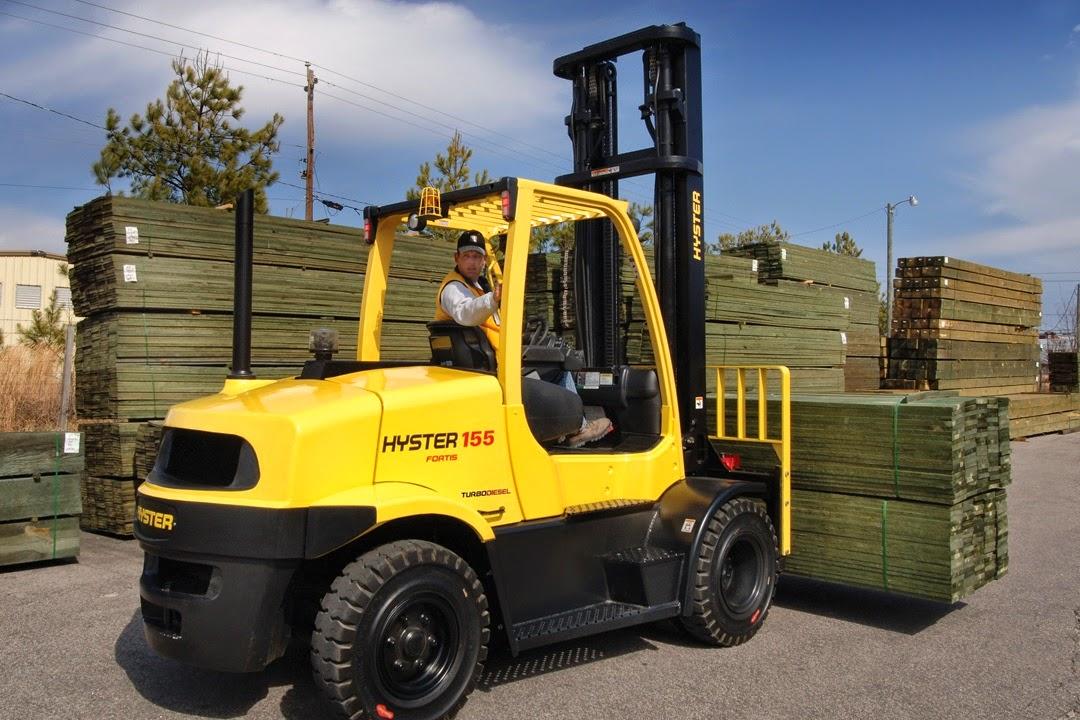 Xe nâng Hyster 6 - 7 tấn