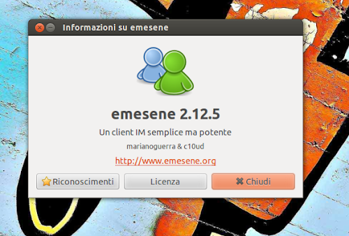 Emesene 2.12.5 info