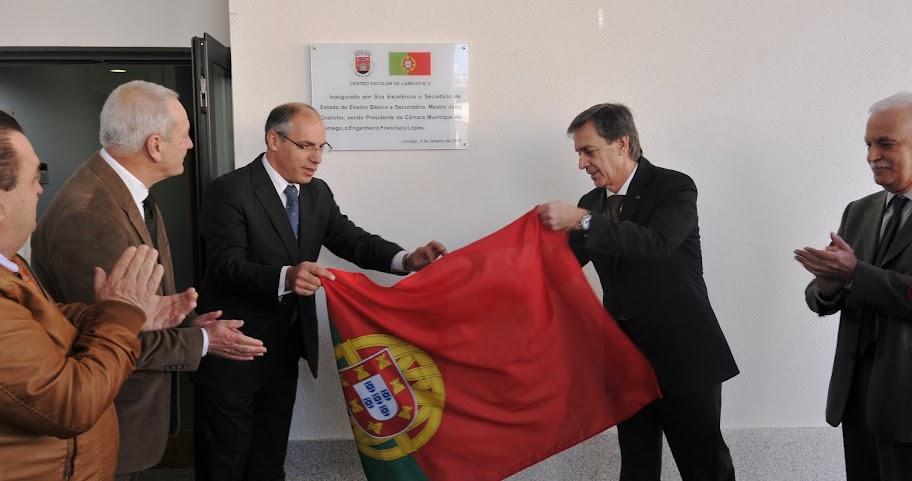 Secretário de Estado do Ensino Básico inaugura novo Centro Escolar de Lamego Nº2
