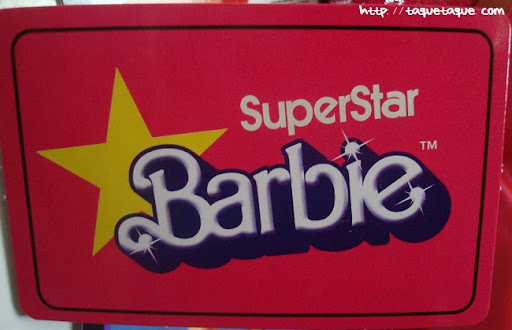 mi Babie Favorita 1977 - Barbie Superstar: logotipo