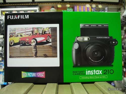 FujifilmInstax210InstantCameraWidePictureFormat