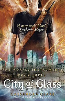 Series Review: City of Glass (The Mortal Instruments, Book #3), By Cassandra Clare Cover art