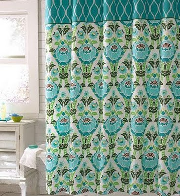j brown design: shower curtain drapes