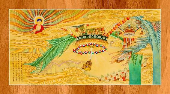 Bộ ảnh đẹp minh họa bản Kinh A Di Đà 9