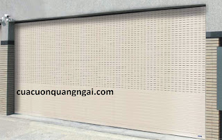 Cửa cuốn khe thoáng A50 Austdoor tại Quảng Ngãi