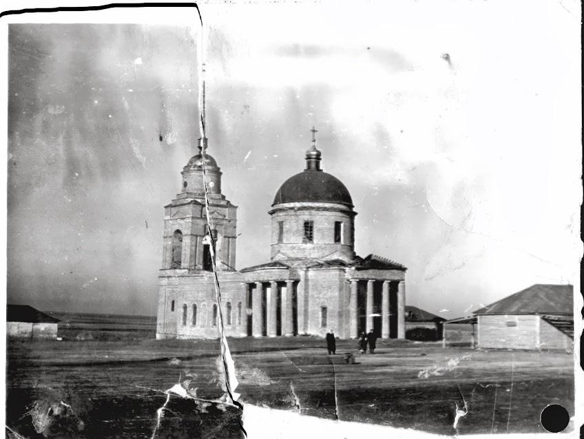 Покровский храм село Ольховка