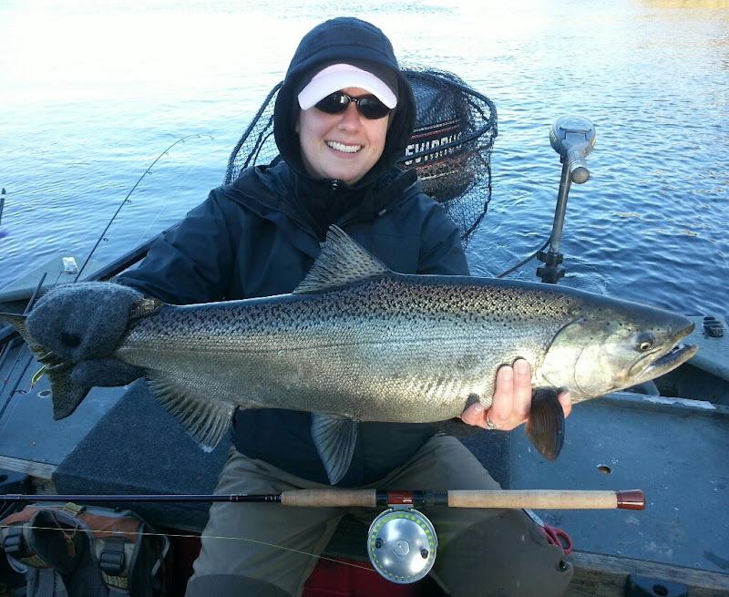 Michigan King Salmon Fishing Guide Trips