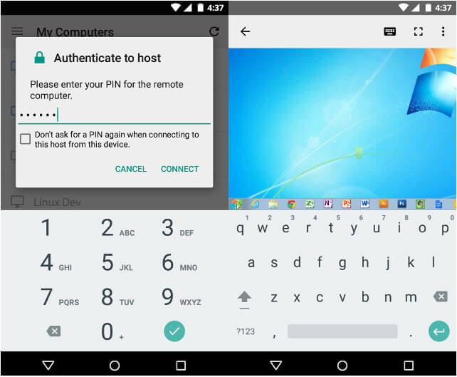 15 Aplicaciones Android para control remoto de su PC Linux