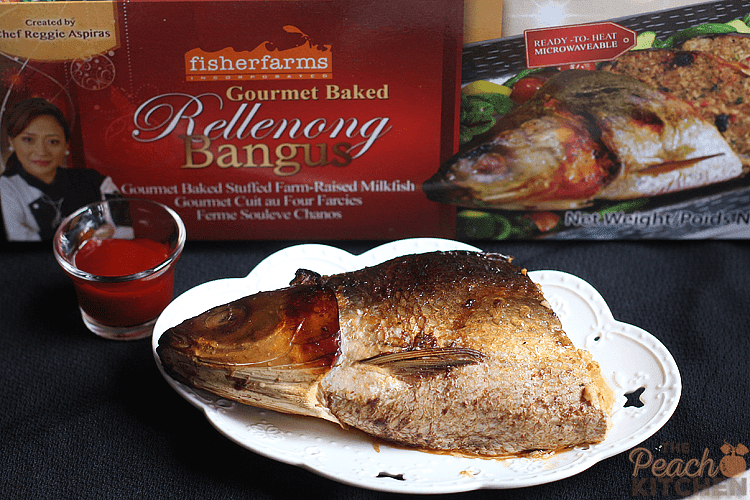 Fisher Farms Rellenong Bangus Fried Rice