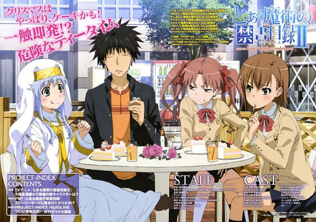 AnimeRanking Index Railgun To Aru Majutsu no Index Season 1 [ Subtitle Indonesia ]