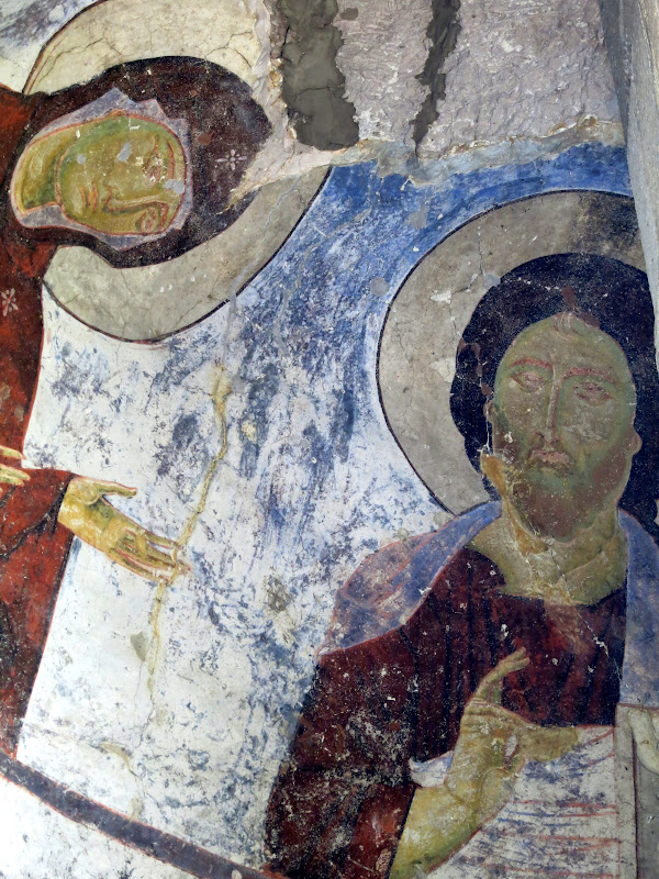 Fresco from Church of the Dominion, Vardzia