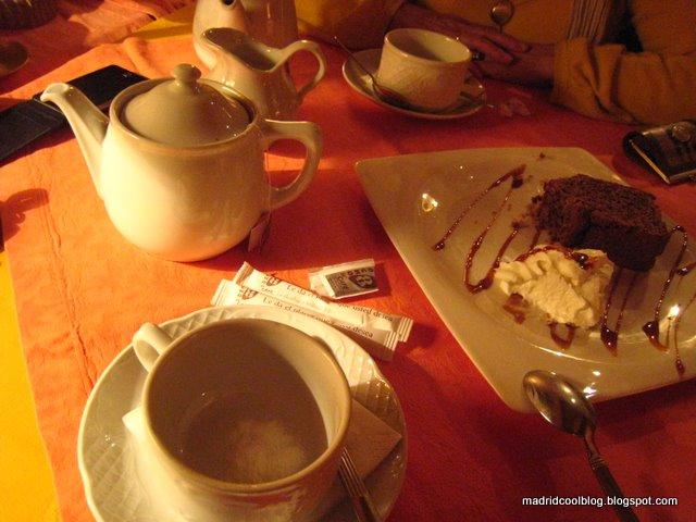 MADRID COOL BLOG Barrio Justicia Te  Coffee Cake Colón