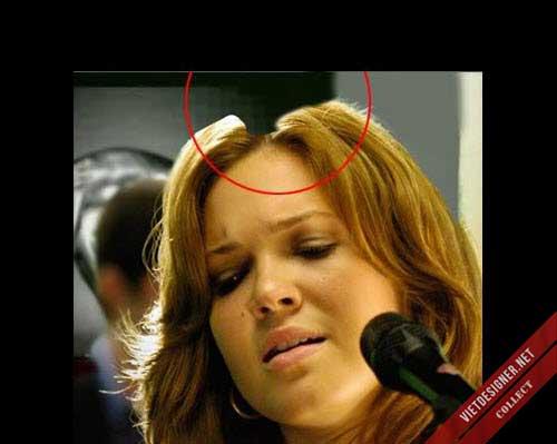Đầu nữ ca sĩ kiêm diễn viên Mandy Moore bị sói nặng.