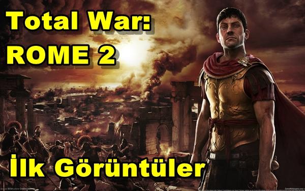 Total War: ROME 2'den İlk Görüntüler