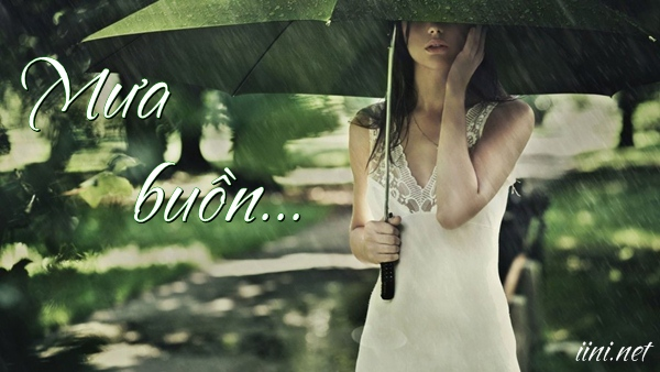 Ảnh & Thơ mưa buồn mùa Hạ