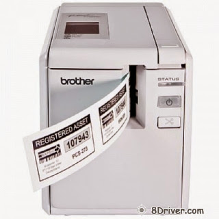 Download Brother PT-9700PC printer's driver, learn the way to setup