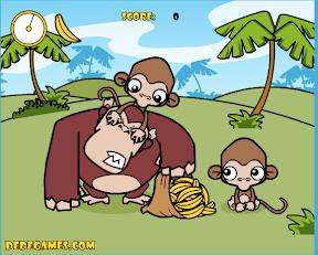 小猴子偷香蕉