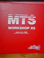 MTS Workshop XII 1986 cover