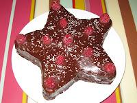 Gâteau chocolat framboise - recette indexée dans les Desserts