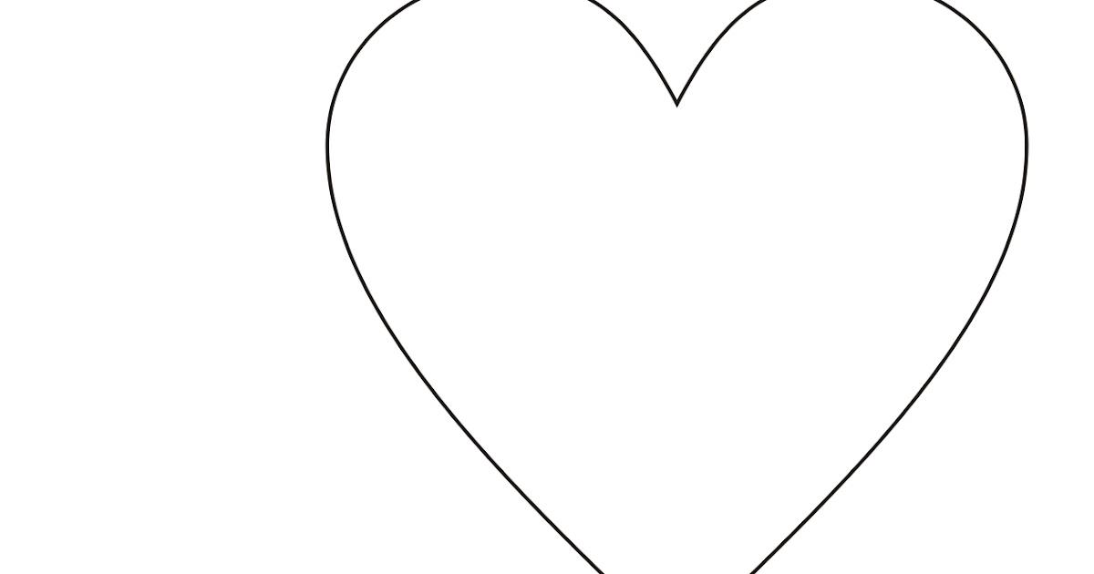 Fantástico Corazón Para Colorear Páginas Para Imprimir Colección de ...