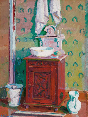 Harold Gilman - Interior with a washstand