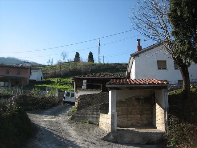 Rutas Montaña Asturias: Saliendo de Villamarcel