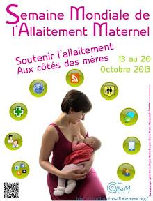 Semaine Mondiale de l'allaitement maternelle ou SMAM 2013