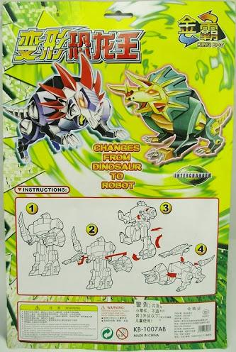 Transforming Dinobot Kingbot Voyager-Ultra Class Size Dinobot B NEW
