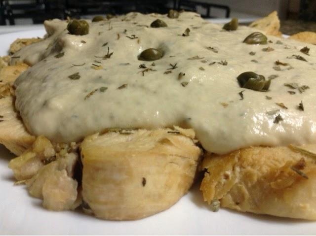 Pechugas de Pollo con Salsa Toné [Foto-Receta]