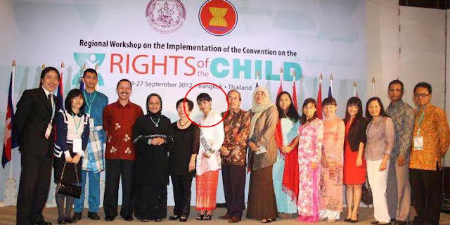 Gayatri Wailissa dalam Convention on the Right of the Child (CRC)