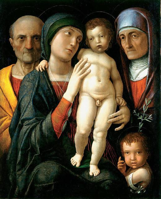 Andrea Mantegna - The Holy Family - Google Art Project