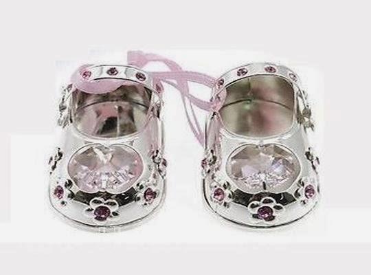 Zapatos plateados como regalo